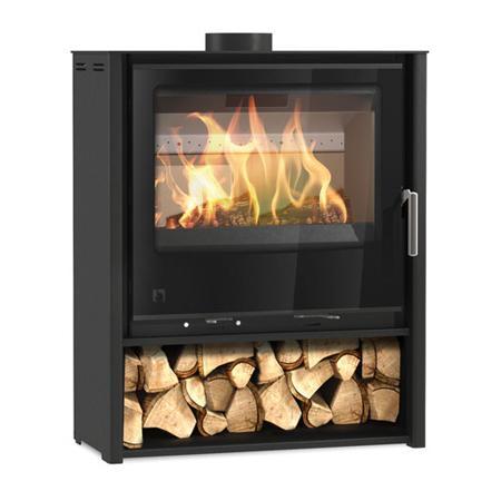 Arada iSeries i600 Mid Slimline Freestanding Multi Fuel / Wood Burning Stove