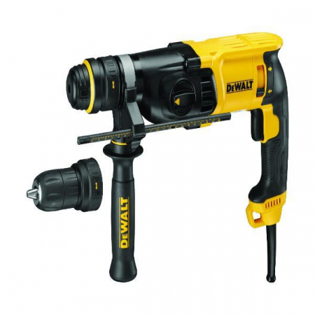 DEWALT D25134K 2KG SDS+ Hammer Drill Quick Change Removable Chuck