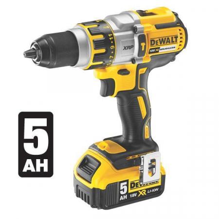 DeWALT DCD995P2 18V XR Li-Ion Brushless XRP Hammer Drill Driver 5.0Ah