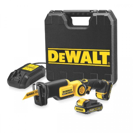 DeWALT DCS310D2 10.8V Li-Ion Compact Reciprocating Saw 2x 2.0Ah