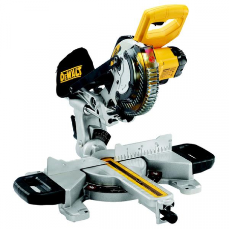 DEWALT DCS365 184mm Cordless Mitre Saw w/ XPS