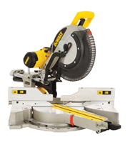 305mm Compound Slide Mitre Saw with XPS DWS780