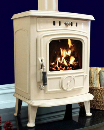 Henley The Aran Cream Enamel Stove