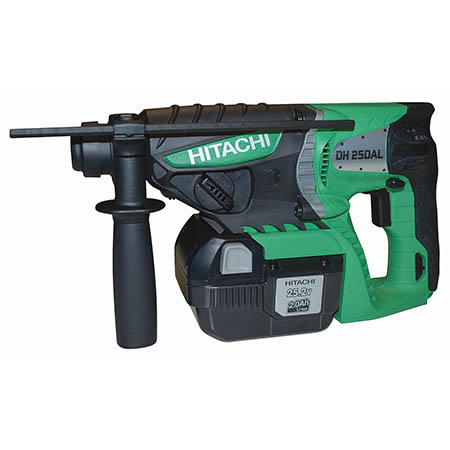 DH25DAL/JQ 25.2V SDS-PLUS HAMMER DRILL WITH 2 X 2.0AH LI-ION BATTERIES