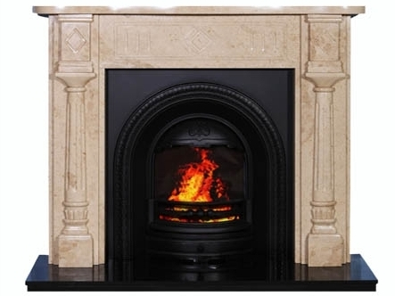 Magna Marble Fireplace