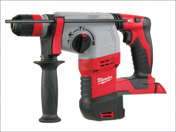 MILHD18HX0 M18 HD18 HX-0 SDS Plus 3 Mode Rotary Hammer & Fixtec 18 Volt Bare Unit