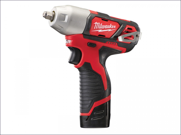 MILM12BIW382 M12 BIW38-202C Compact 3/8in Impact Wrench 12 Volt 2 x 2.0Ah Li-Ion