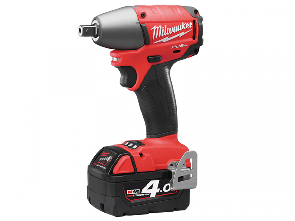MILM18IW124F M18 Fuel™ CIW12-402C Compact 1/2in Impact Wrench 18 Volt 2 x 4.0Ah Li-Ion