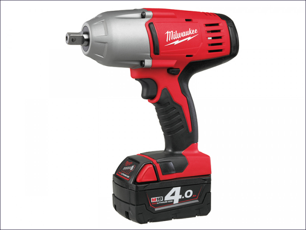 MILHD18HIW4 M18 HD18 HIW-402 Indent Pin 1/2in Impact Wrench 18 Volt 2 x 4.0Ah Li-Ion