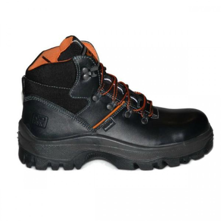 NO-RISK Franklyn Waterproof S3 Black Safety Work Boot