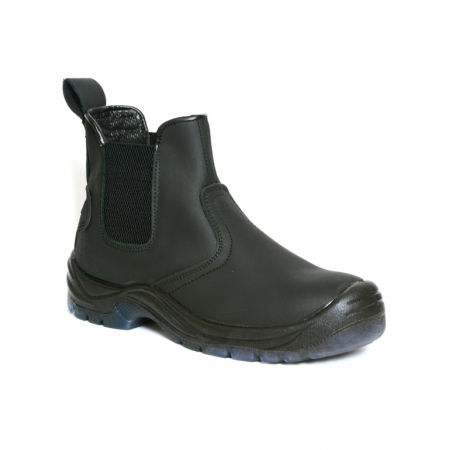 XPERT DEFIANT SAFETY DEALER BOOTS BLACK
