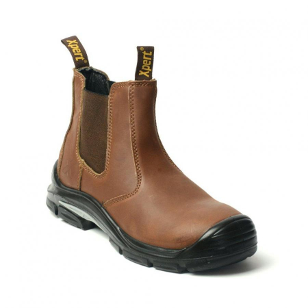 XPERT VULCAN COMPOSITE SAFETY DEALER BOOT BROWN