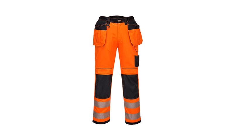 T501 - PW3 Hi-Vis Holster Work Trouser