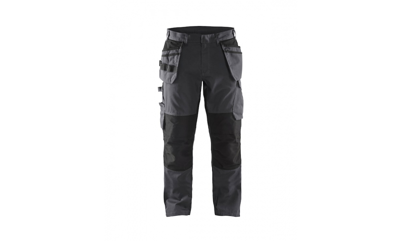 1496BLAKLADER STRETCH TROUSERS WITH NAIL POCKETS