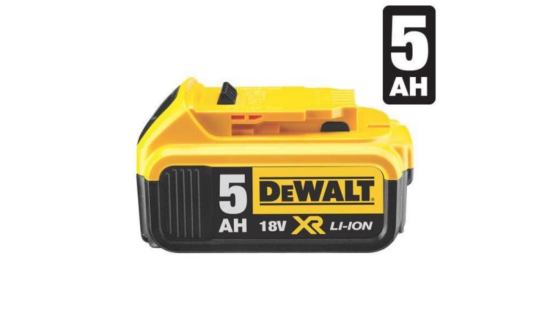 DeWALT XR 18V DCB184 Battery 5.0Ah