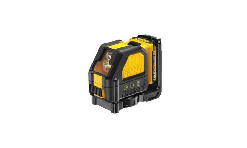 DeWALT DCE088D1G-GB Cross Line Green Beam Laser 10.8V