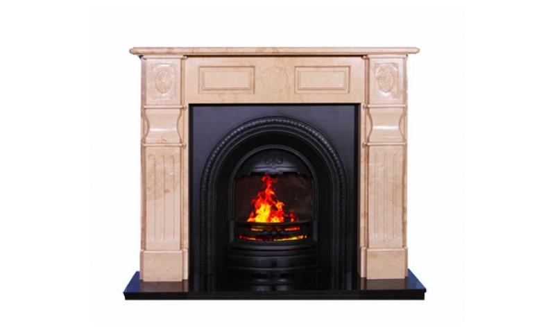 Edwardian Marble Fireplace