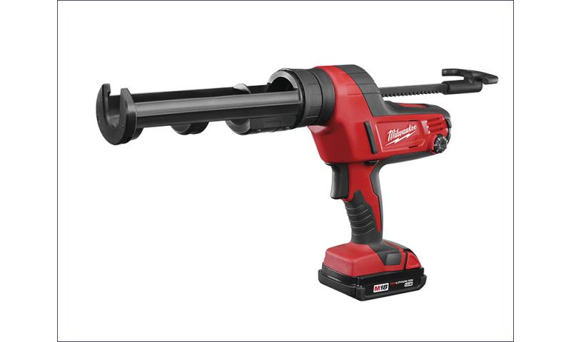 MILC18CG3102 C18 PCG/310C Caulking Gun 310ml Cartridge 18 Volt 1 x 2.0Ah Li-Ion