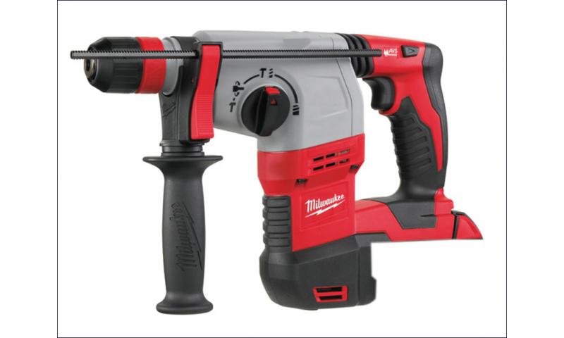 MILHD18HX0 M18 HD18 HX-0 SDS Plus 3 Mode Rotary Hammer & Fixtec 18 Volt Bare Unit