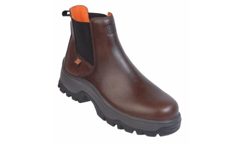NO-RISK New Denver Dealer Safety Boot Brown S3