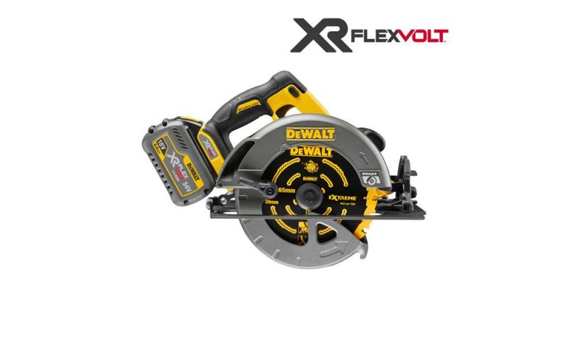 DCS575T2 54 Volt XR Flexvolt Circular Saw Kit, 2 x 6.0Ah Batteries