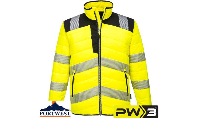 PW371 - PW3 Hi-Vis Baffle Jacket