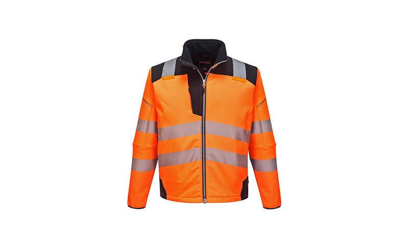 T402 - PW3 Hi-Vis Softshell Jacket